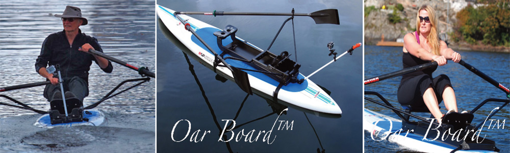 Oar Board SUP Rower Harold Aune