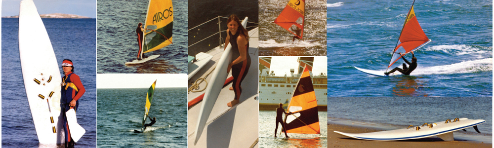 Rod Carswell, Ross Harrington, Ruth from NZ, Dave Gerry myself and a pile of others windsurfed into the 80's in great style.